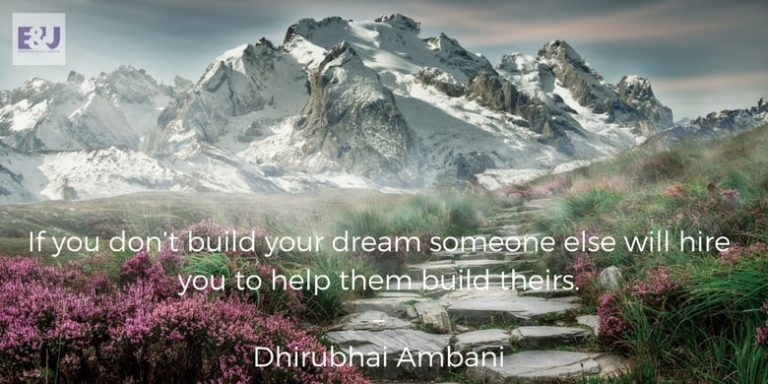 Motivational Quotes for Success Dhirubhai Ambani